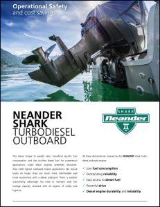 Neander Shark diesel Outboard Brochure