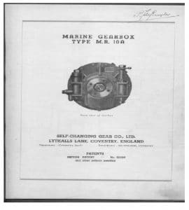 Newage MR 10a Marine Transmission Manual