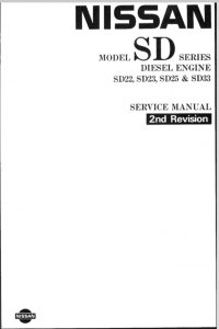 Nissan SD22 Diesel Engine Service Manual