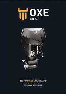 OXE 200hp diesel Outboard engine Brochure