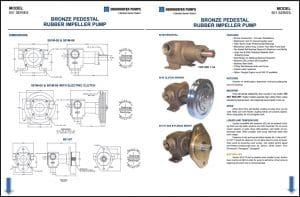 Oberdorfer 501 Series Impeller Pumps Guide & Parts
