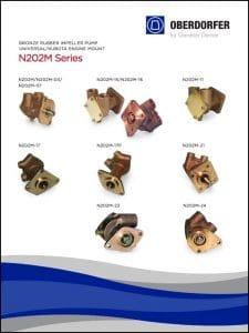 Oberdorfer N202M Series Impeller Pumps Parts Catalog