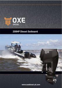 Oxe 200hp diesel Outboard Brochure Long