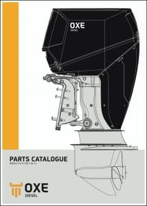 Oxe Diesel outboard engine parts catalogue