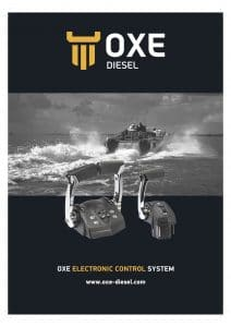 Oxe diesel outboard Electronic Controls Brochure