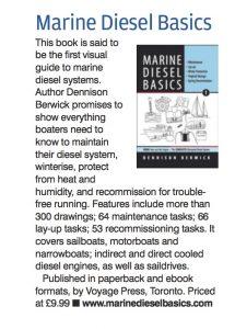 review of Marine Diesel Basics 1 in Practical Boat Owner Nov 2017