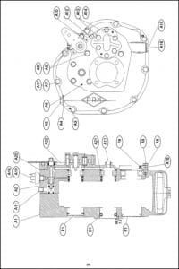PRM marine transmission 150 Parts