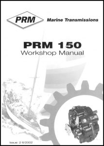 cover of PRM 150 Workshop manual