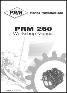 cover of PRM 260 Workshop manual