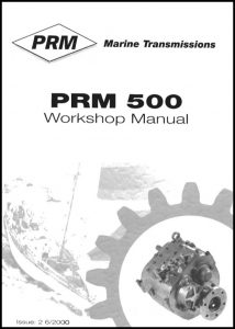 cover of PRM 500 Workshop manual