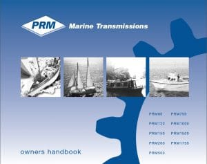 PRM 80 marine transmission Owners Manual