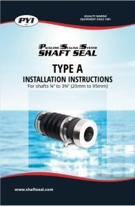 PYI PSS Type A Installation Instructions