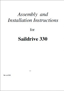 Parsun Saildrive 330 Installation Manual