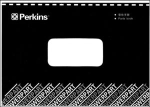 Perkins 1006TG1A diesel engine Parts Book