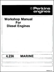 Perkins 4.236 Marine Workshop Manual