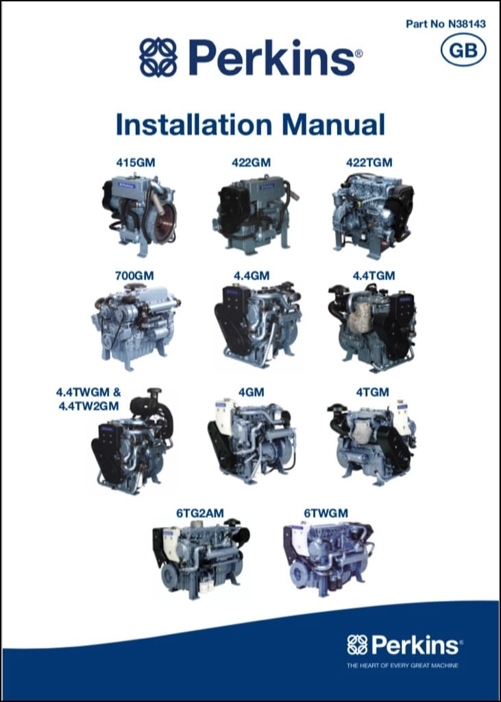 Perkins 415GM etc Diesel Engines Installation Manual