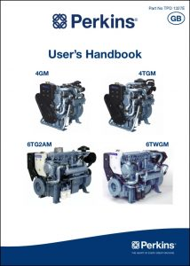 Perkins 4GM diesel engine Users Handbook