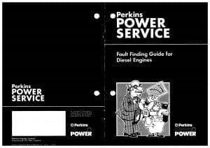 Perkins diesel engine Fault Finding Guide