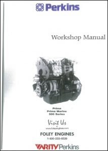 Perkins Prima 500 Series diesel engine Workshop Manual