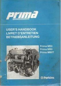 Perkins Prima M60 Marine diesel Engine Users Handbook
