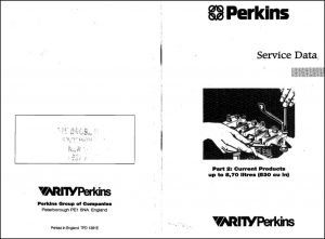 Perkins diesel engines Service Data part2 1997
