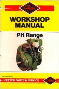 Petter PH Range Diesel Engine Workshop Manual