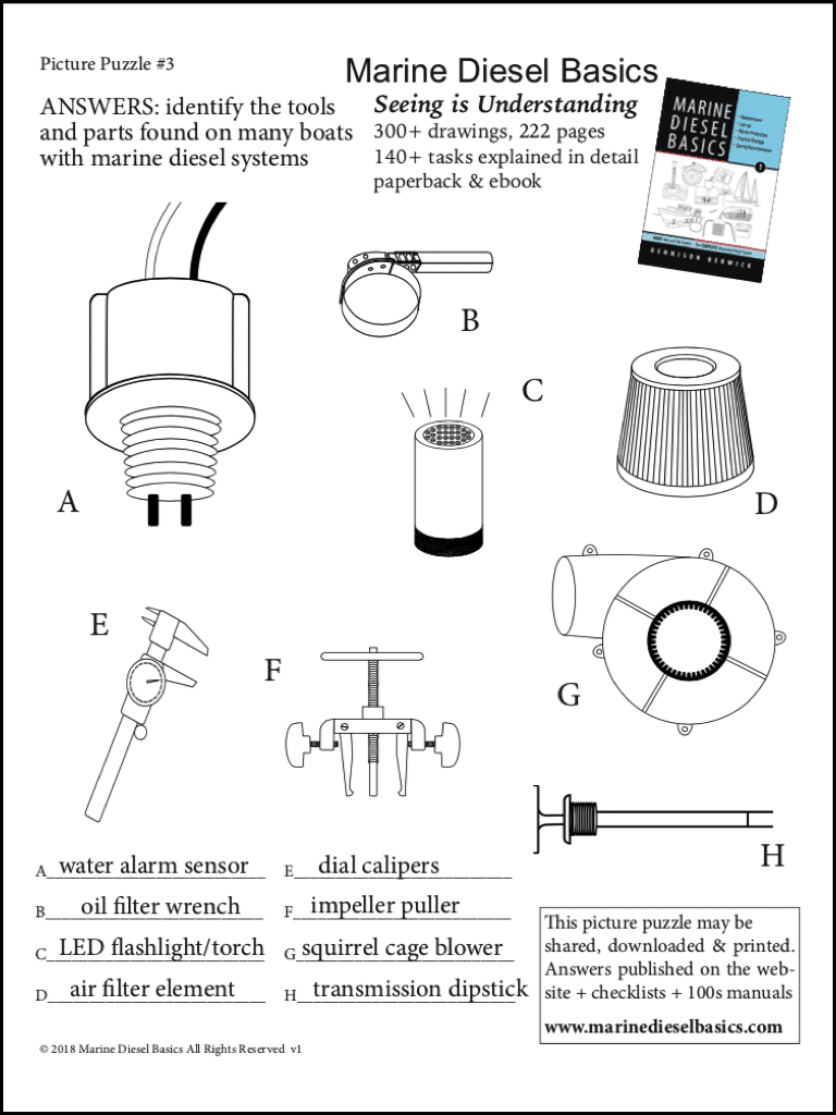 Marine Diesel Basics Picture Puzzle #3 answers