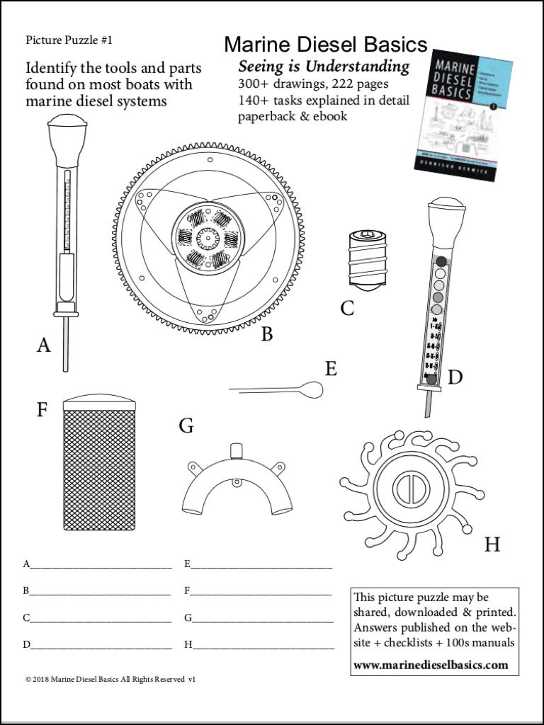 Marine Diesel Basics Picture Puzzle#1