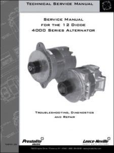 Prestolite 4000 Series Service Manual