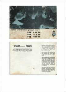 Renault RC18D Maintenance Manual French