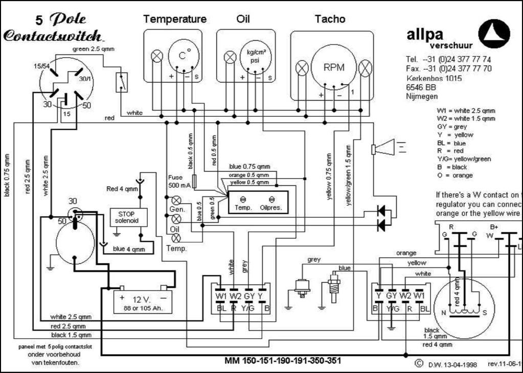 ruggerini diesel engine mm150 wiring