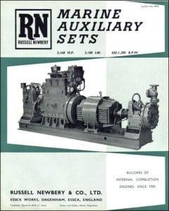 Russell Newbery Marine Auxiliary Sets (diesel engine) Brochure