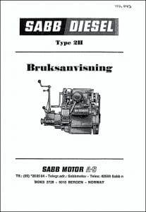 Sabb 2H User Manual in Swedish