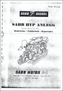 Sabb HVP Anlegg gearbox Maintenance Norwegian