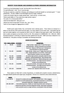 Sabb diesel engine Identify Engine Gearbox Guide