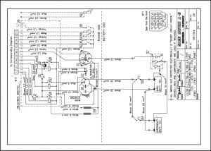 Sabb L2.093 lifeboat diesel engine Wiring diagram