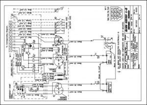 Sabb L3.139LB lifeboat diesel engine Wiring Diagram
