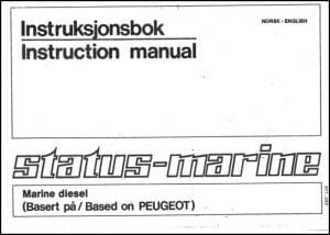 Sabb Peugeot Instruction Manual