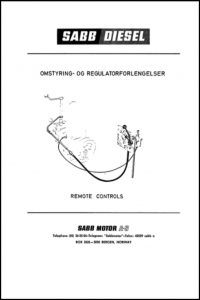 Sabb Engine Remote Controls Catalogue