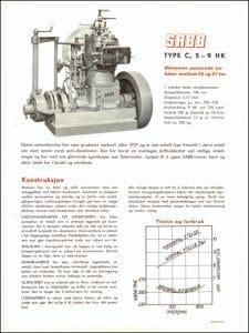 Sabb Type C dieselmotor brosjyre