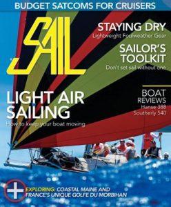 Sail magazine cover