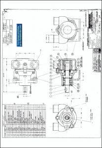 Sherwood G2 Raw Water Pump DrawingSherwood G4 Raw Water Pump Drawing