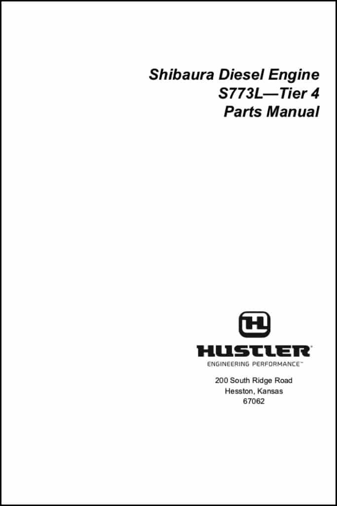 Shibaura S773L Diesel Engine Parts Manual - MARINE DIESEL BASICS