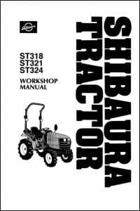 Shibaura ST318 Diesel Engine Workshop Manual