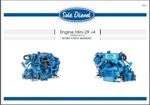 Sole diesel engine parts manual