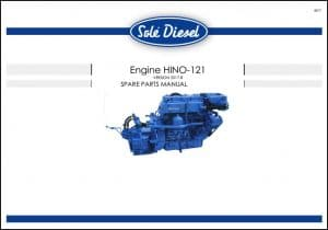 Sole Hino121 Diesel Engine Spare Parts Manual