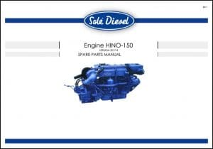 Sole Hino150 Diesel Engine Spare Parts Manual