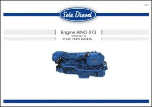Sole Hino270 Diesel Engine Spare Parts Manual