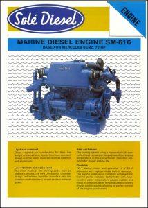 Sole Mercedes SM-616 diesel engine Brochure
