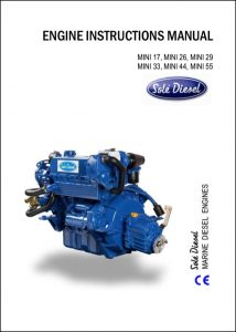 Sole Mini 17 diesel Engine Instructions